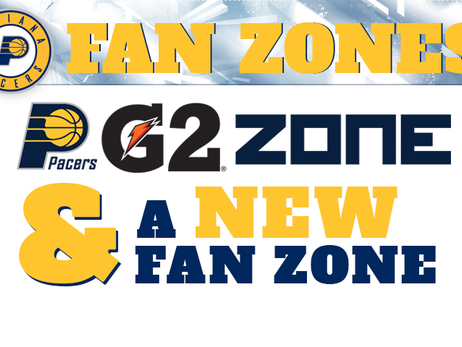 Pacers Announce Fan Zones for 2015-16