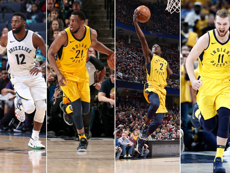 Four Pacers Land on ESPN's #NBARank Top 100