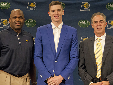 T.J. Leaf Holds Introductory Press Conference