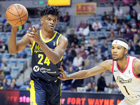 The Fort Report: Johnson's Double-Doubles Power Two Mad Ants Wins