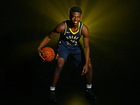 Aaron Holiday's Rookie Photo Shoot