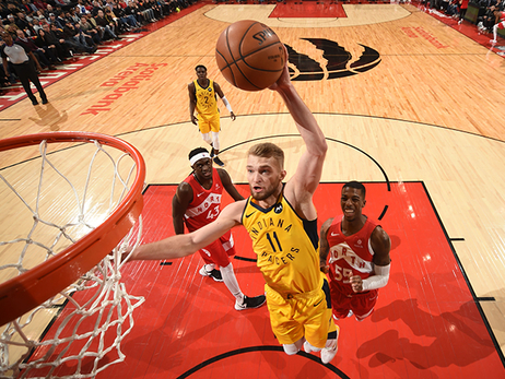 Sabonis Named Finalist for NBA Sixth Man Award
