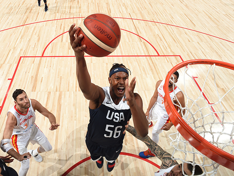 Myles Turner, USA vs Spain