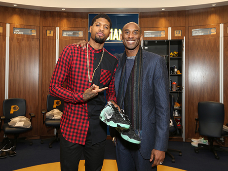 PG and Kobe Share the Floor, and Sneakers