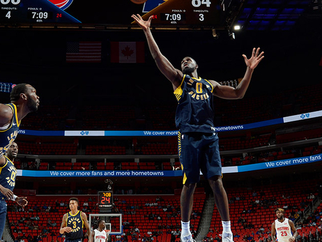 Poythress Called Down to Go Up to the Pacers