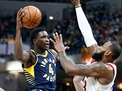 Victor Oladipo, LeBron James