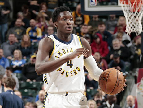 Pacers' All-Star Steps Aside, Aids the Cause