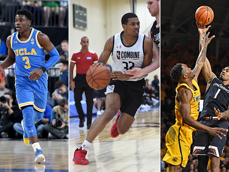 Aaron Holiday, De'Anthony Melton, Jacob Evans