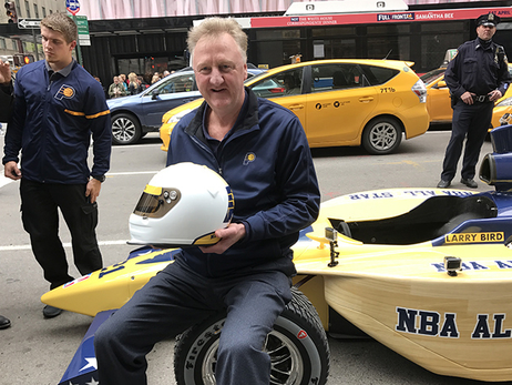 Larry Bird delivers 2021 All-Star bid