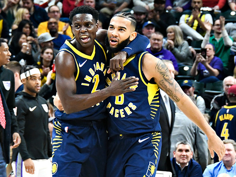 Pacers Finding Strength in Numbers