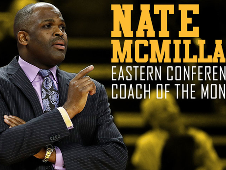 Nate McMillan Named Eastern Conference Coach of the Month for April