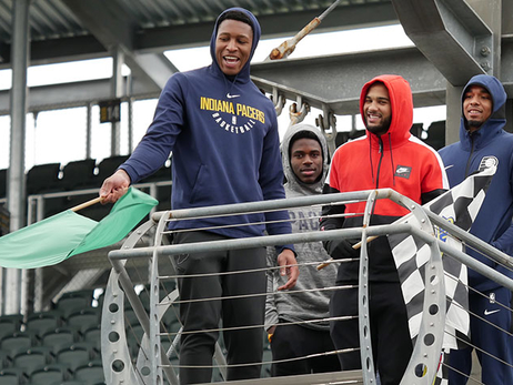 Pacers Learn the Business of Speed at the IMS