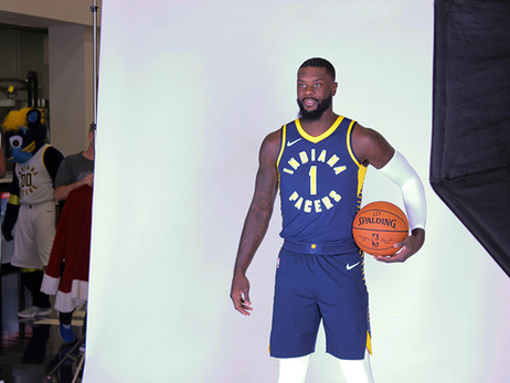 Behind the Scenes: Pacers Media Day 2017