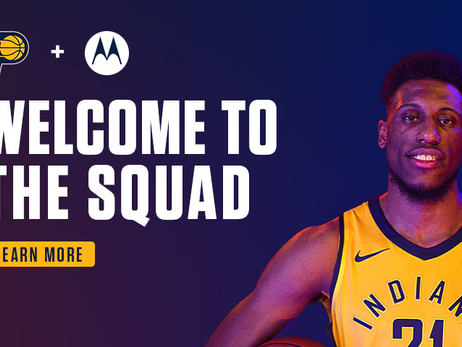 Pacers & Motorola Announce Multi-Year Partnership