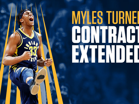 Pacers Sign Myles Turner to Contract Extension