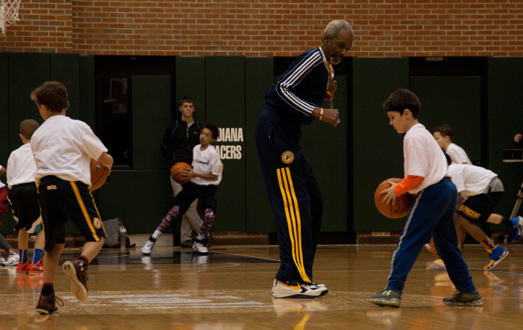 Jr. Pacers clinic