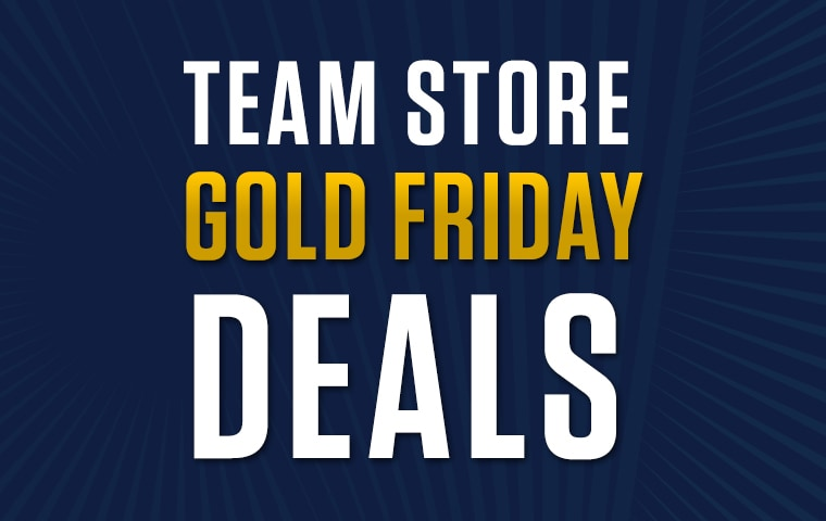 Pacers Team Store Gold Friday Deals