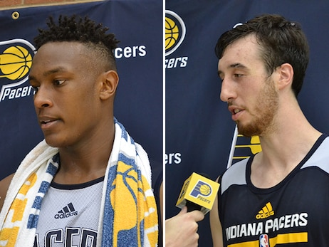 Turner, Kaminsky Sized Up by Pacers