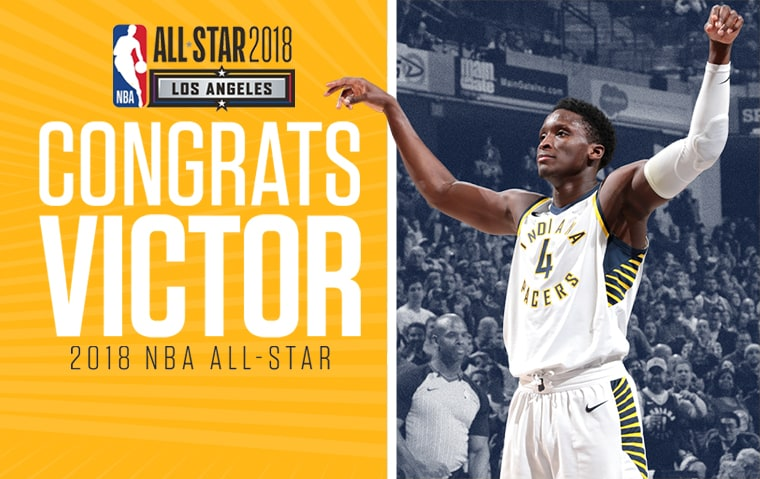 online store fe986 f06ae Oladipo Named Reserve on NBA All-Star Team | Indiana Pacers