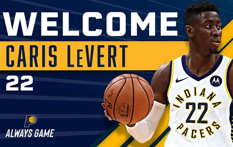 Pacers Acquire Caris LeVert | Indiana Pacers
