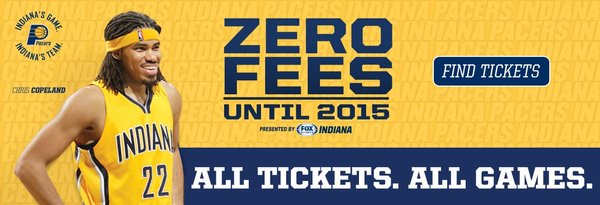 Zero Fees Until 2015 Presented by FOX Sports Indiana