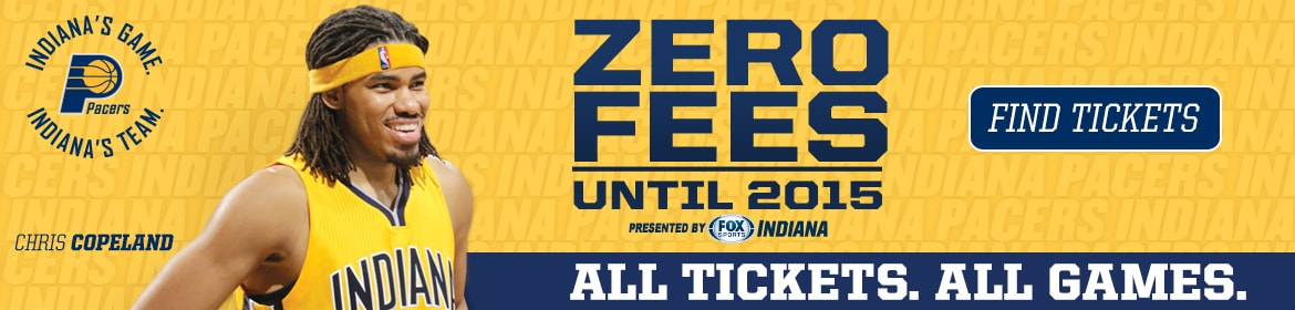 Pacers Zero Fees Promotion Presented by FOX Sports Indiana