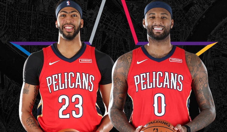 new arrival a1b32 8aa6b Pelicans Anthony Davis & DeMarcus Cousins Named Starters in ...