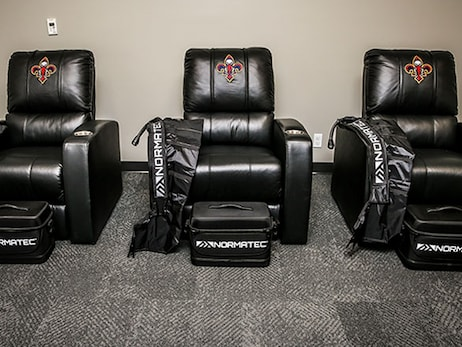 New Orleans Pelicans increase their focus on recovery with cutting-edge recovery room featuring NormaTec Technology