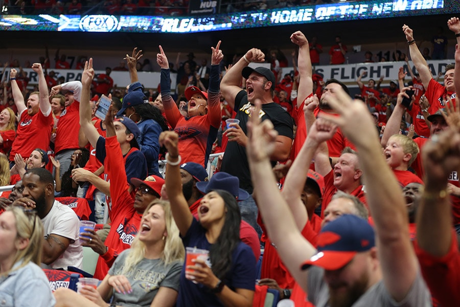 Individual tickets for Pelicans regular season home games on sale Thursday Sept. 13