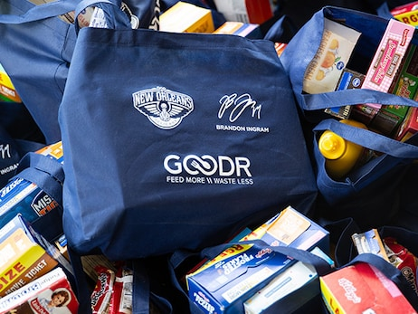 Brandon Ingram and Goodr partner to distribute groceries to New Orleans community