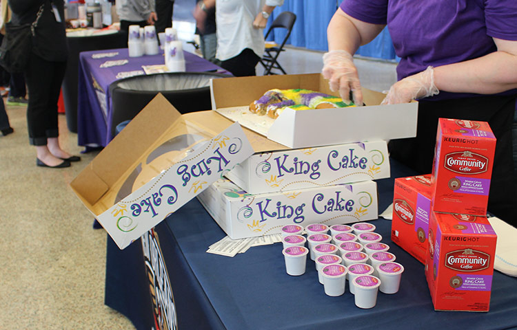 New Orleans King Cake Dallas