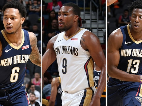 Pelicans waive three from roster