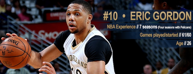 Season In Review 2014 15 Eric Gordon New Orleans Pelicans