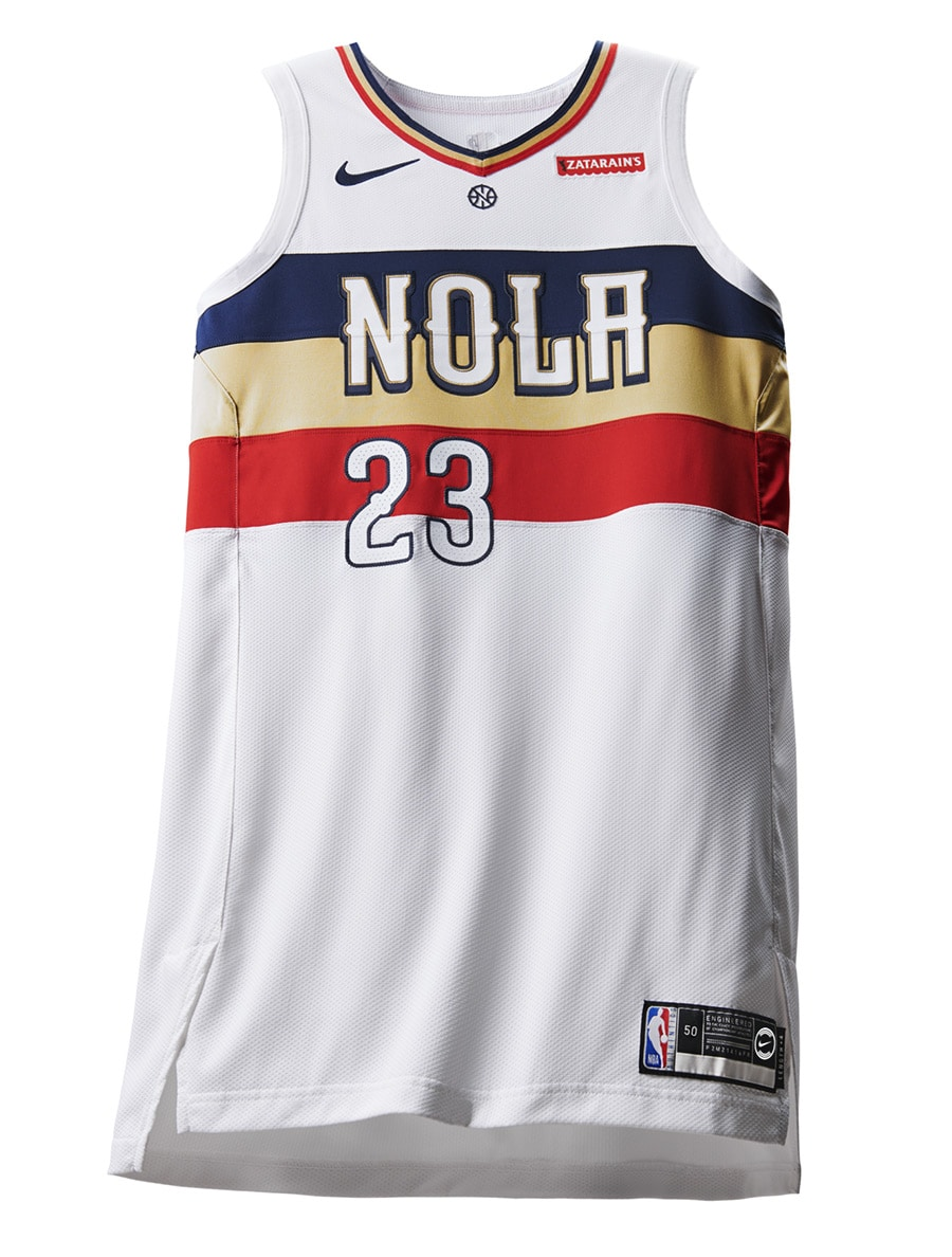Uniform Watch A Closer Look At The New Pelicans Earned