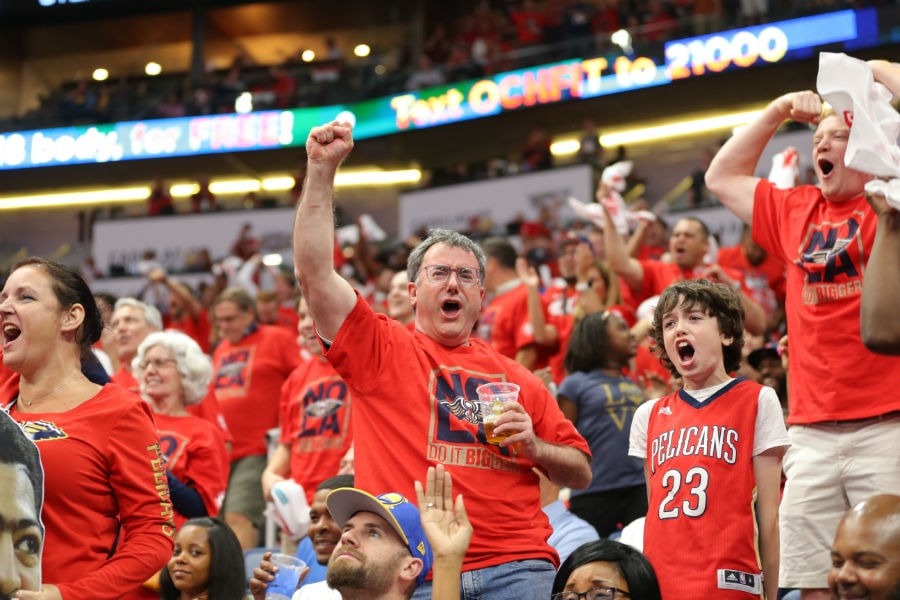 Top 50 Fan Photos Of The Pelicans Postseason 2018 New