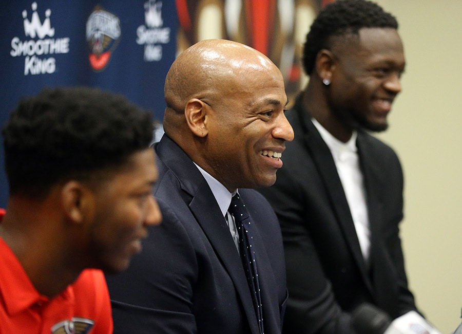 Dell Demps: Free-agent additions will fit Pelicans up-tempo style