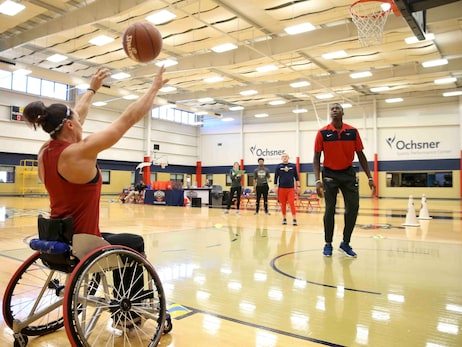 Pelicans, Smoothie King Host Challenged Athletes Foundation Event