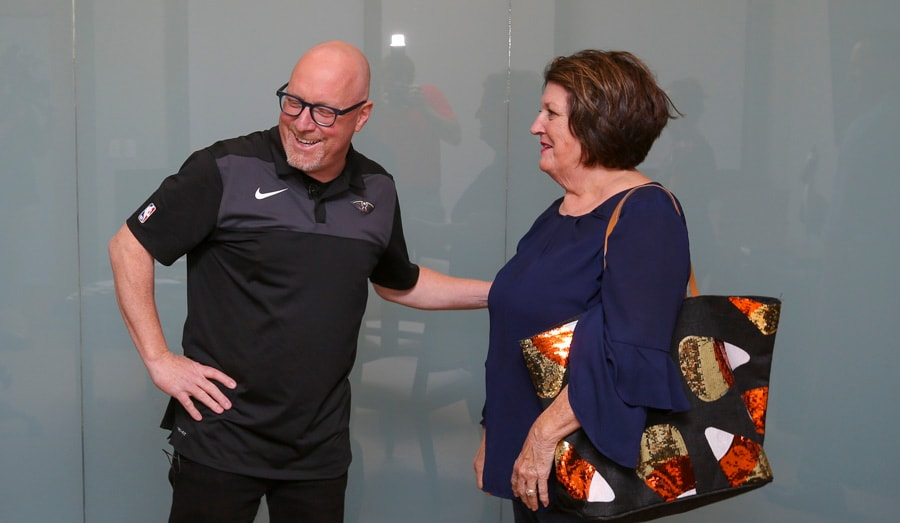 David Griffin repays Pelicans fan Connie for NBA Lottery Good Luck Charm