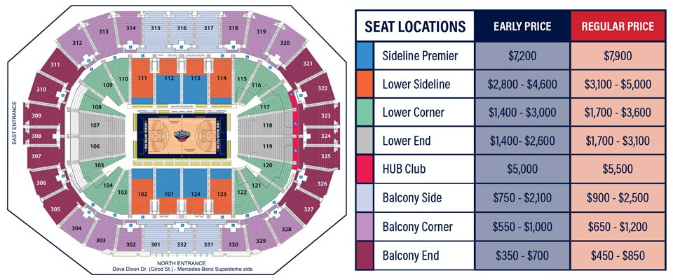 Season Ticket Holder Pricing