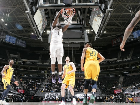 Pelicans at Jazz | COX Game Action Photos 1-19-21
