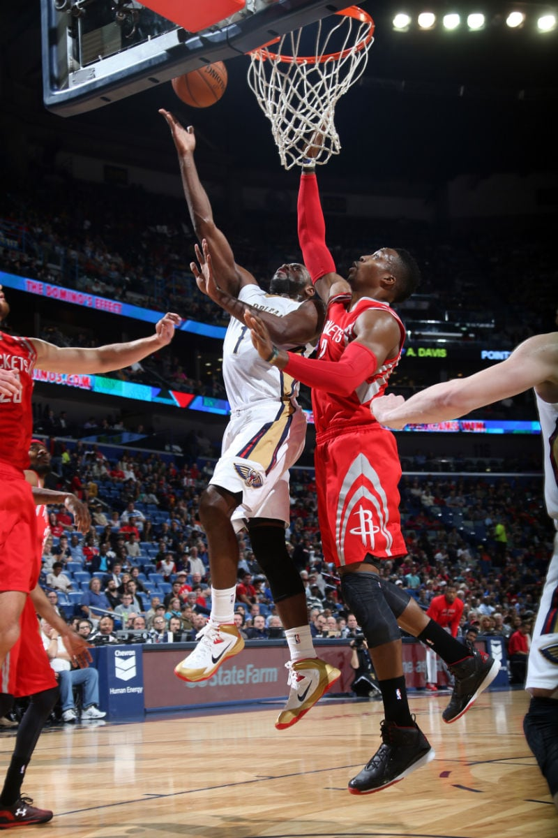The New Orleans Pelicans played the Houston Rockets on Friday Jan 2