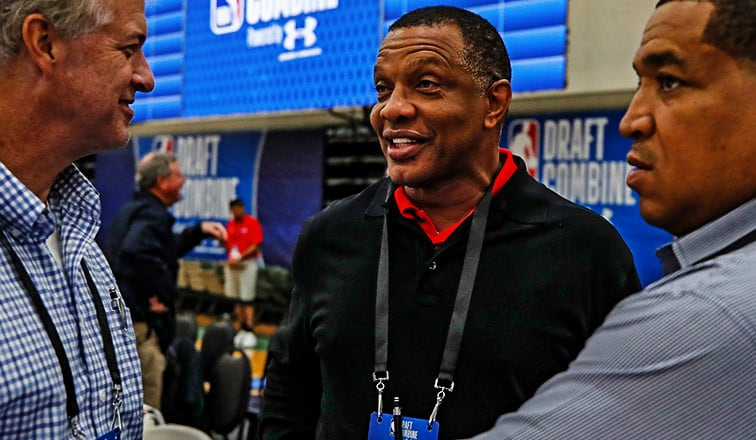 Pelicans Head Coach Alvin Gentry at the 2019 NBA Draft Combine
