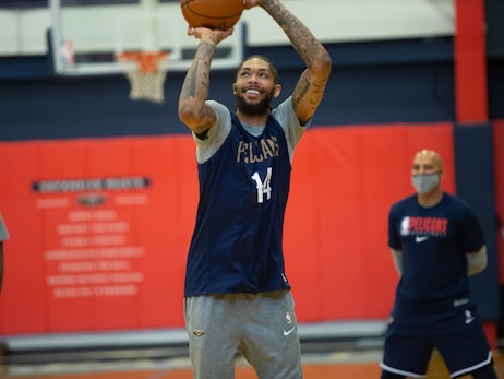 Photos: New Orleans Pelicans practice | February 8, 2021