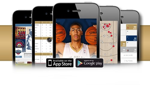 Download The Pelicans App For A Chance To Win Two Floor