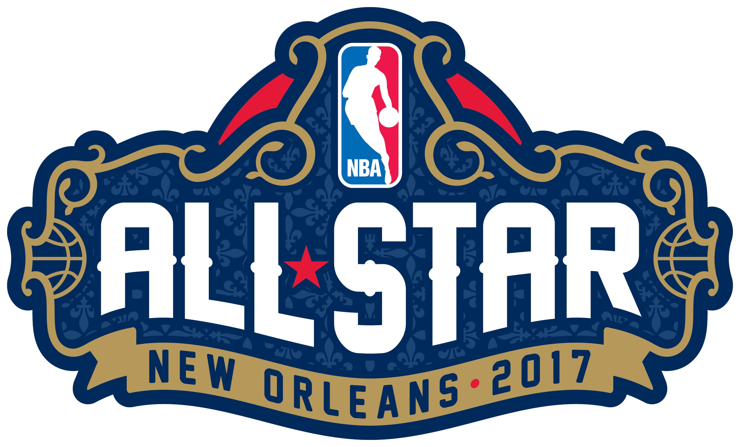 Nba unveils new orleans inspired nba all star 2017 logo new orleans