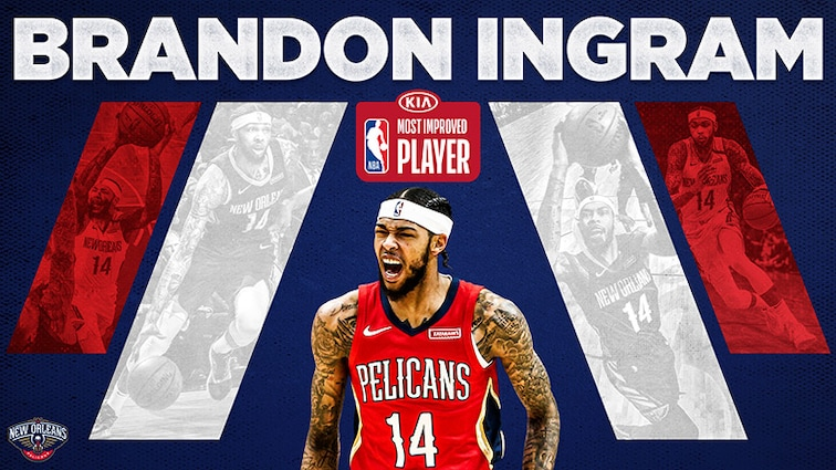 Brandon Ingram named NBA Most Improved Player