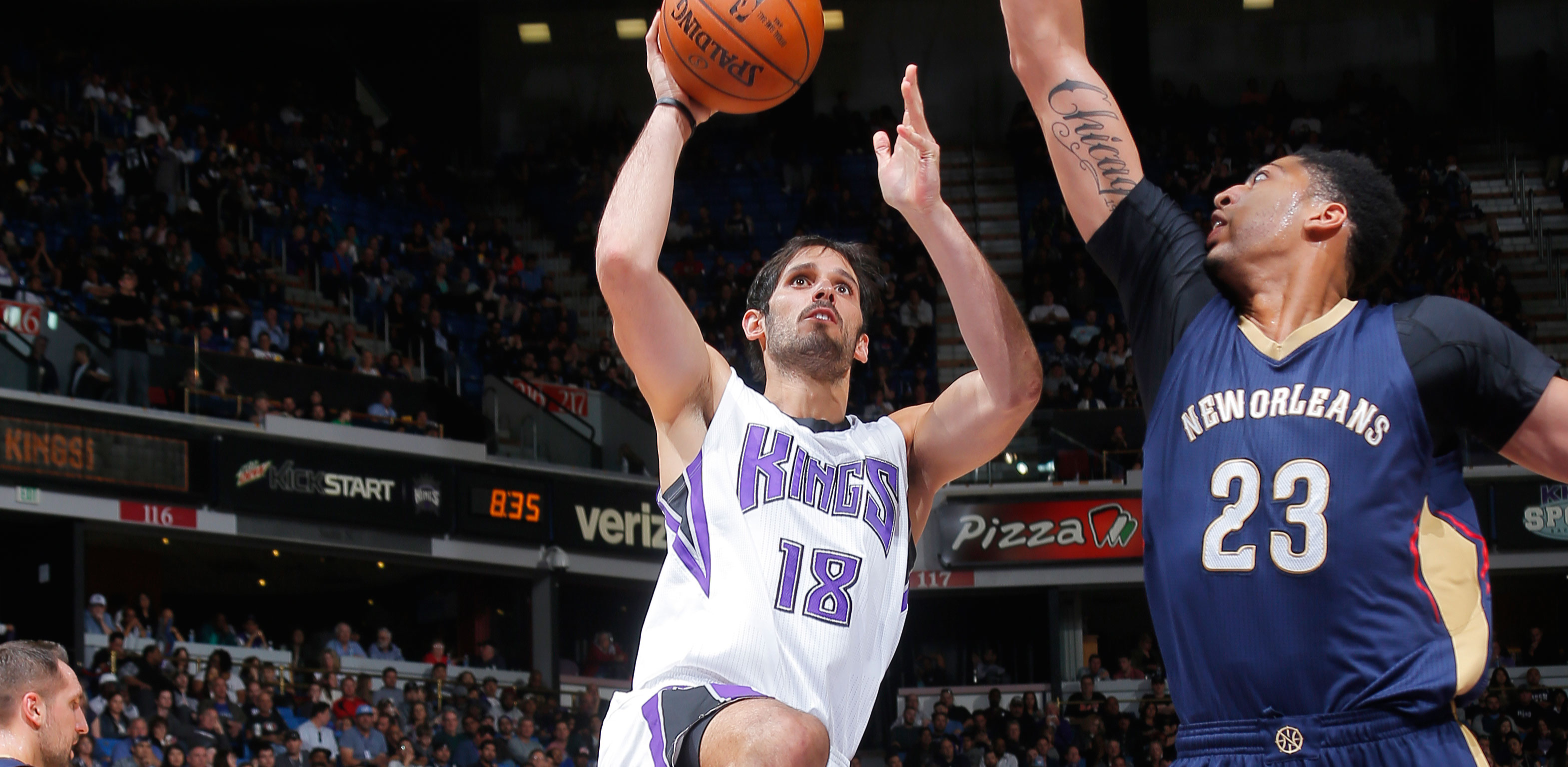 Omri Casspi describes trade to New Orleans as surreal exciting