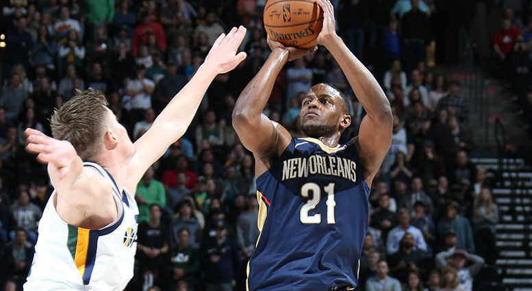 In return to NBA after playing overseas, Darius Miller among league leaders in three-point shooting.