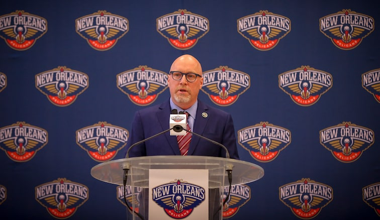 David Griffin at a press conference