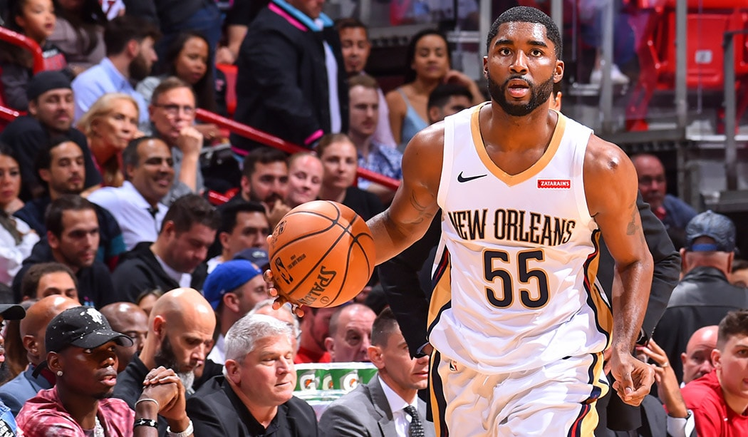 E'Twaun Moore Pelicans Season in Review